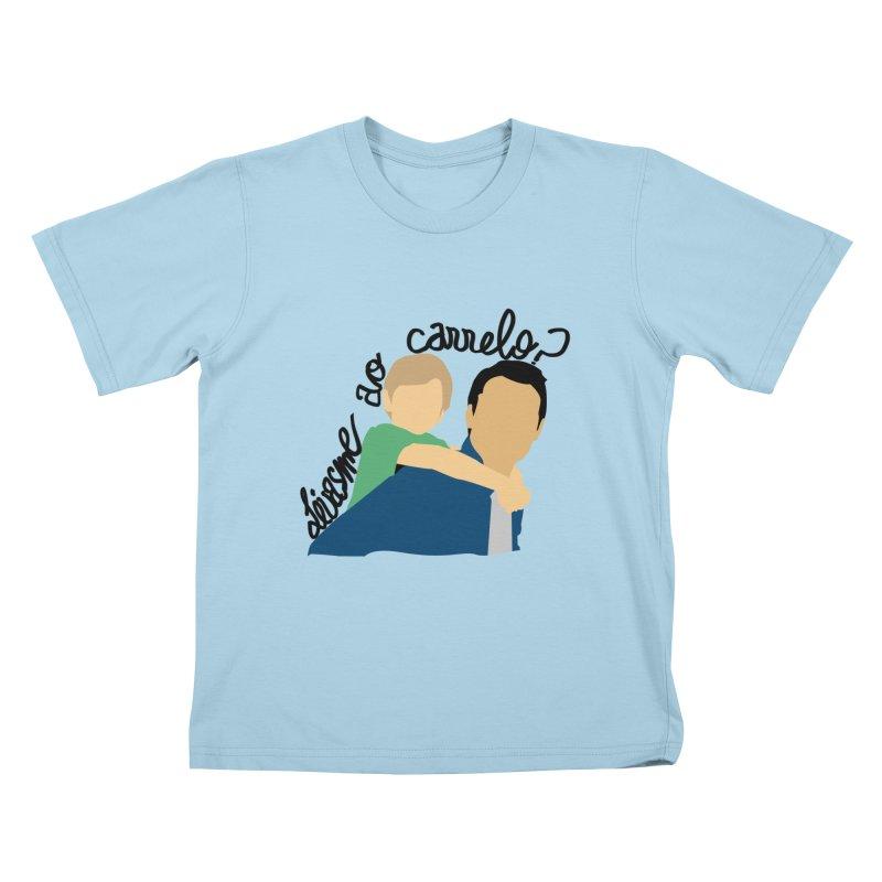 Levasme ao carrelo? Kids T-Shirt by peregraphs's Artist Shop