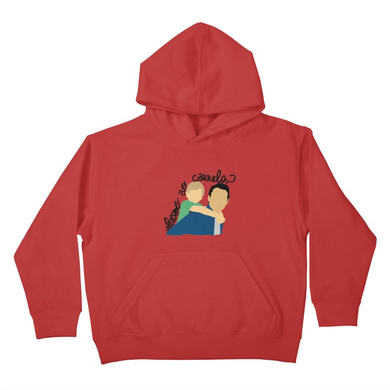 Levasme ao carrelo? Kids Pullover Hoody by peregraphs's Artist Shop