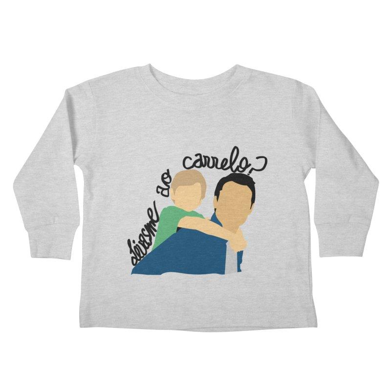 Levasme ao carrelo? Kids Toddler Longsleeve T-Shirt by peregraphs's Artist Shop