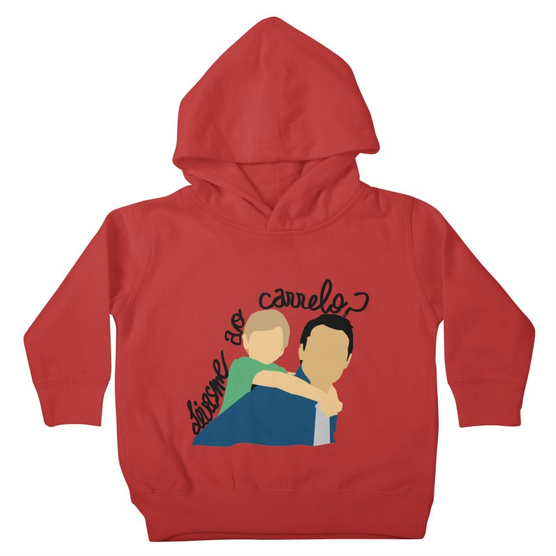 Levasme ao carrelo? Kids Toddler Pullover Hoody by peregraphs's Artist Shop