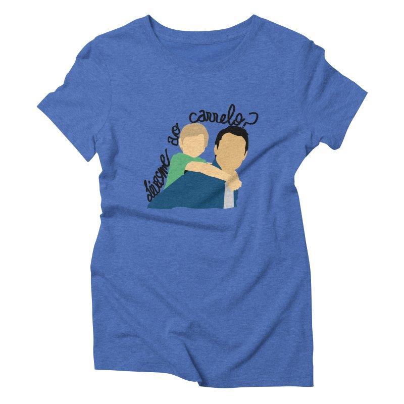Levasme ao carrelo? Women's Triblend T-Shirt by peregraphs's Artist Shop