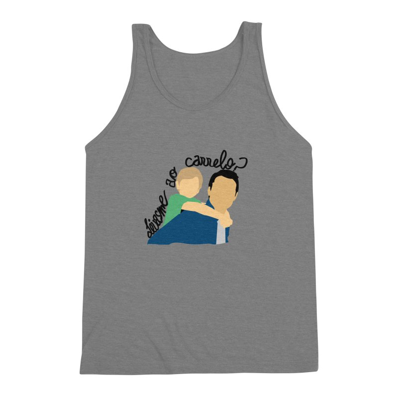Levasme ao carrelo? Men's Triblend Tank by peregraphs's Artist Shop