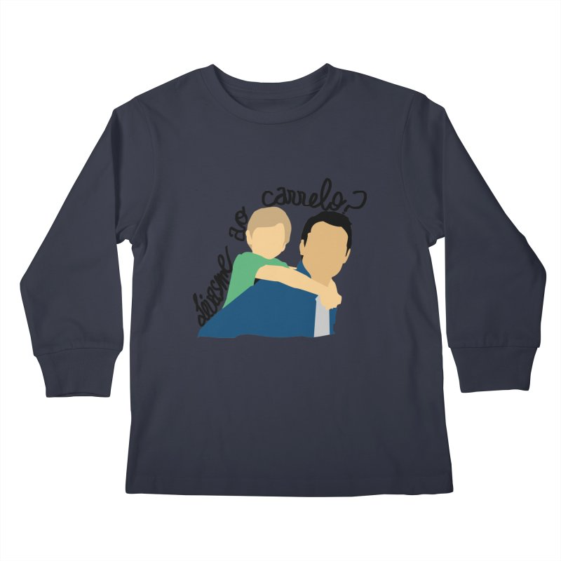 Levasme ao carrelo? Kids Longsleeve T-Shirt by peregraphs's Artist Shop