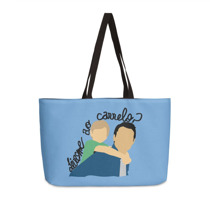 Levasme ao carrelo? Accessories Weekender Bag Bag by peregraphs's Artist Shop