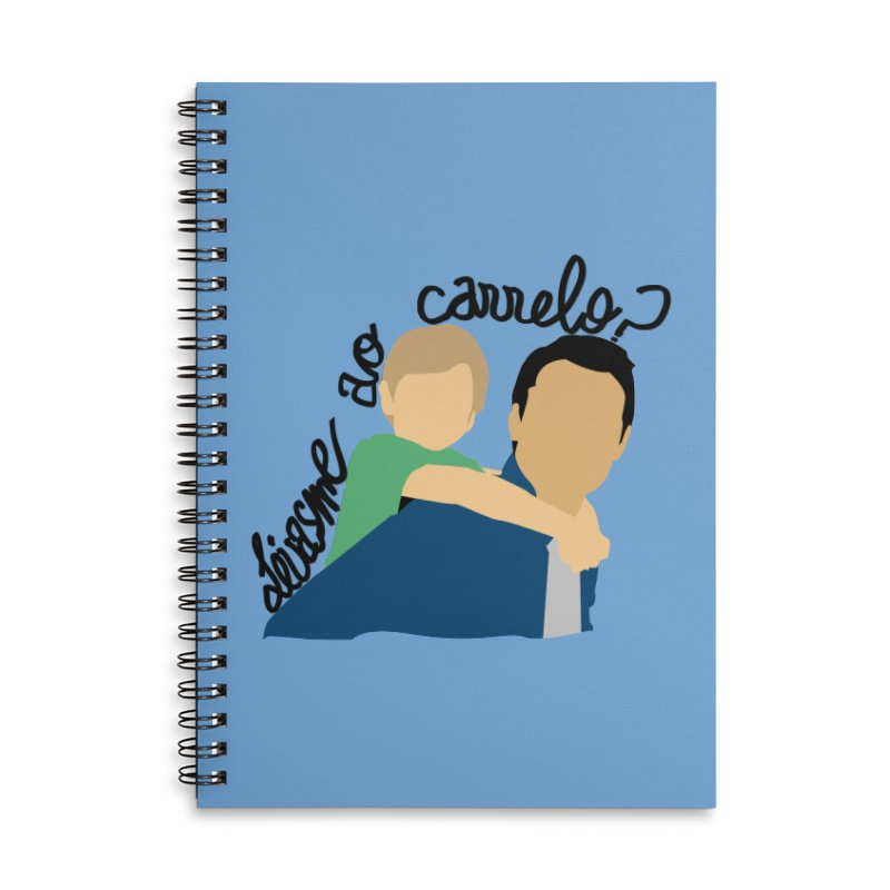 Levasme ao carrelo? Accessories Notebook by peregraphs's Artist Shop