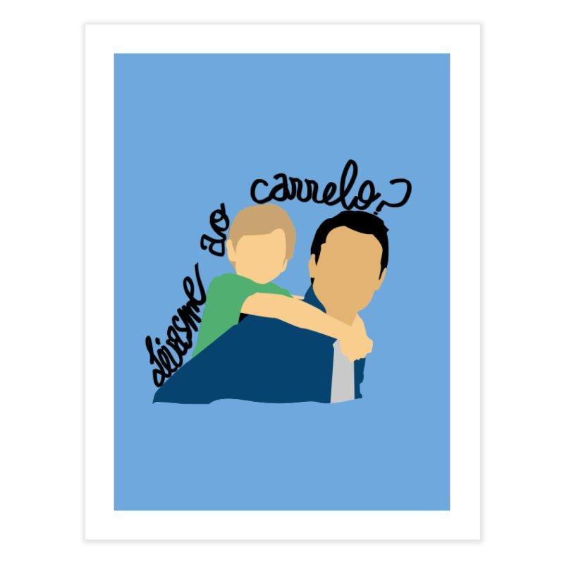 Levasme ao carrelo? Home Fine Art Print by peregraphs's Artist Shop