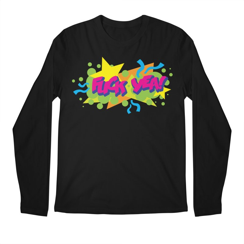 EFF YEA! Men's Regular Longsleeve T-Shirt by periwinkelle's Artist Shop
