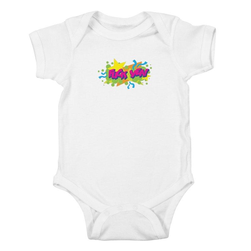 EFF YEA! Kids Baby Bodysuit by periwinkelle's Artist Shop