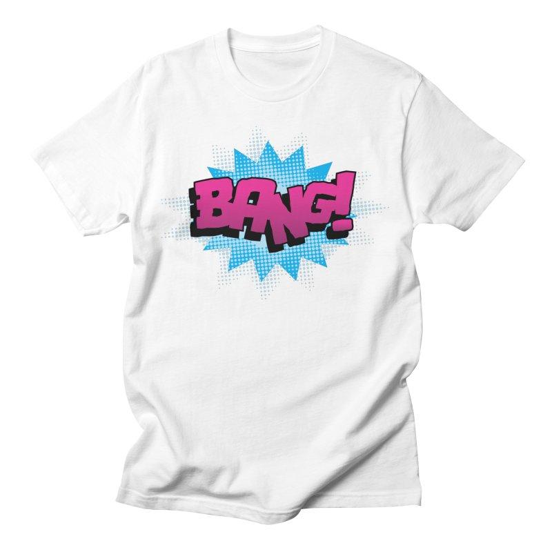 BANG! Men's T-Shirt by periwinkelle's Artist Shop