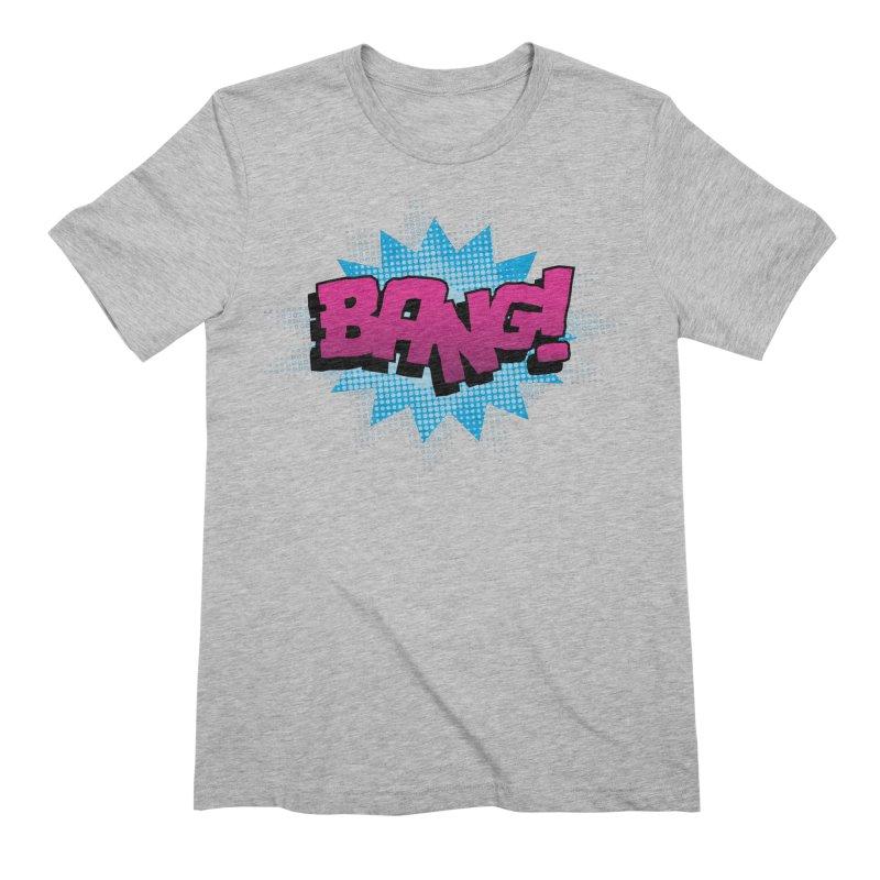 BANG! Men's Extra Soft T-Shirt by periwinkelle's Artist Shop