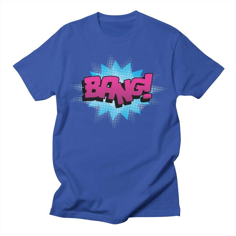 BANG! Women's Regular Unisex T-Shirt by periwinkelle's Artist Shop