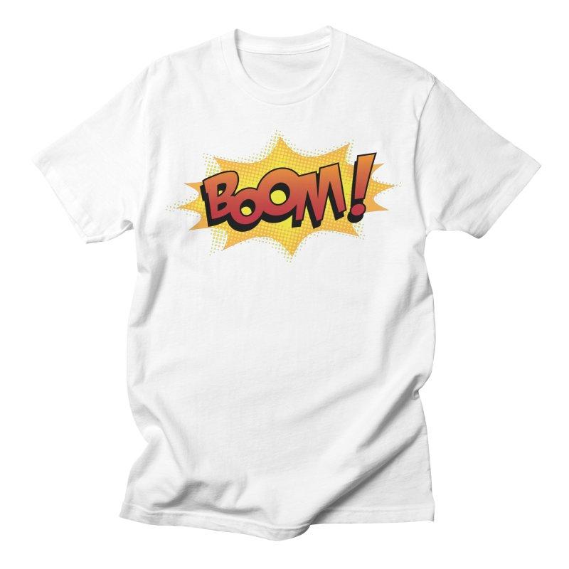 BOOM! Men's T-Shirt by periwinkelle's Artist Shop