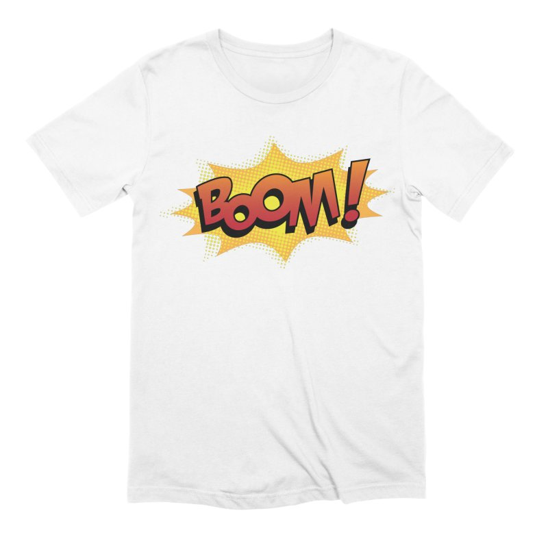 BOOM! Men's Extra Soft T-Shirt by periwinkelle's Artist Shop