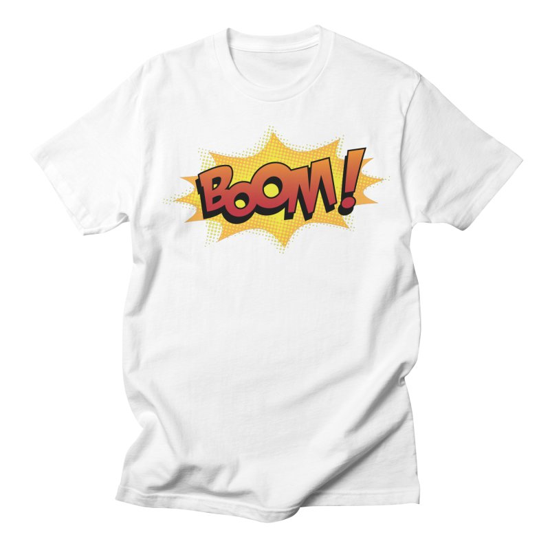 BOOM! Men's Regular T-Shirt by periwinkelle's Artist Shop