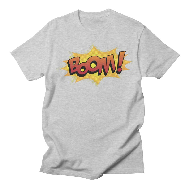 BOOM! Women's Regular Unisex T-Shirt by periwinkelle's Artist Shop