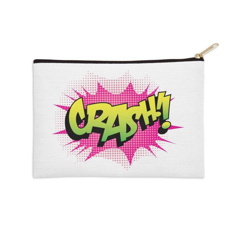 CRASH! Accessories Zip Pouch by periwinkelle's Artist Shop