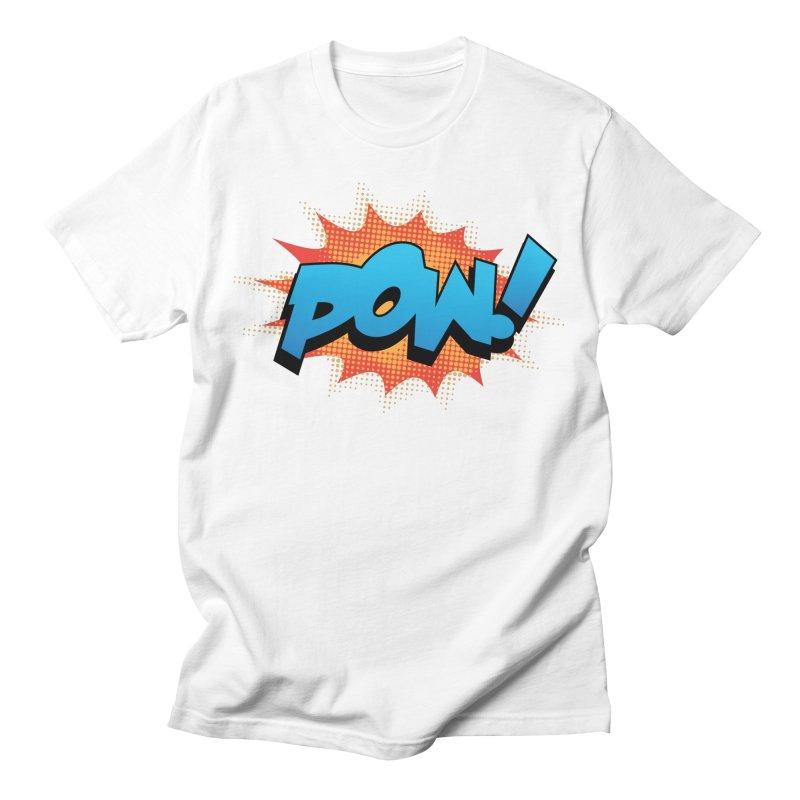 POW! Men's T-Shirt by periwinkelle's Artist Shop