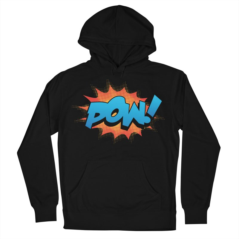 POW! Women's French Terry Pullover Hoody by periwinkelle's Artist Shop