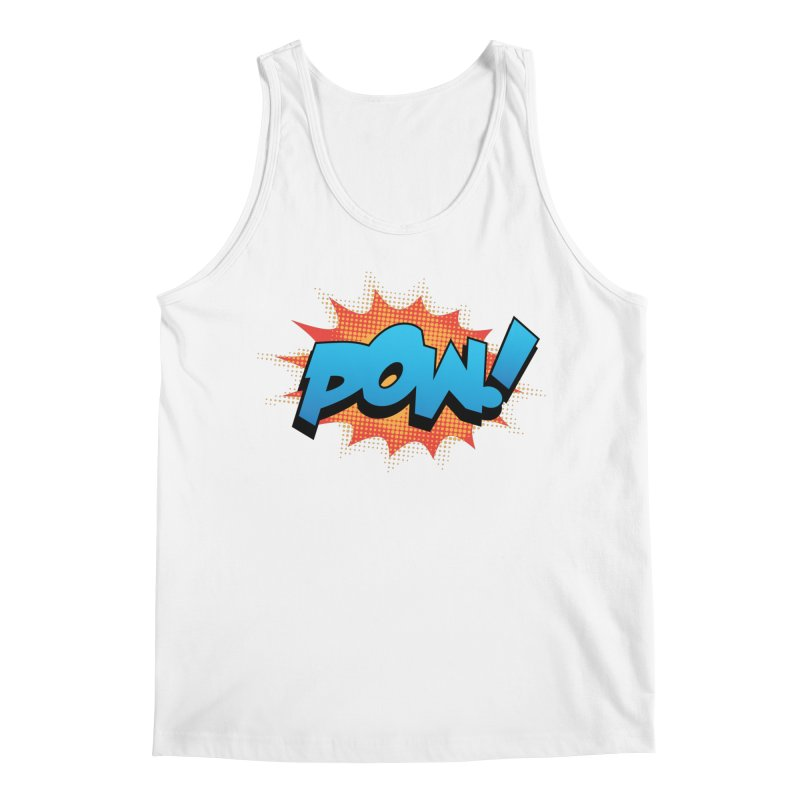 POW! Men's Regular Tank by periwinkelle's Artist Shop