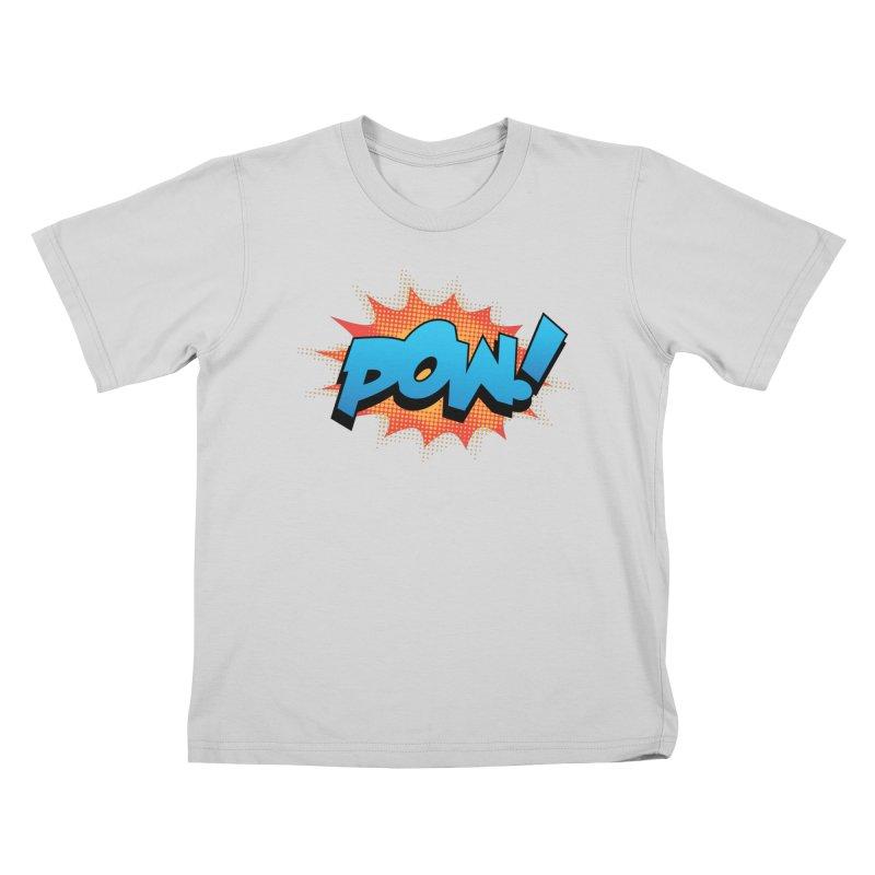 POW! Kids T-Shirt by periwinkelle's Artist Shop