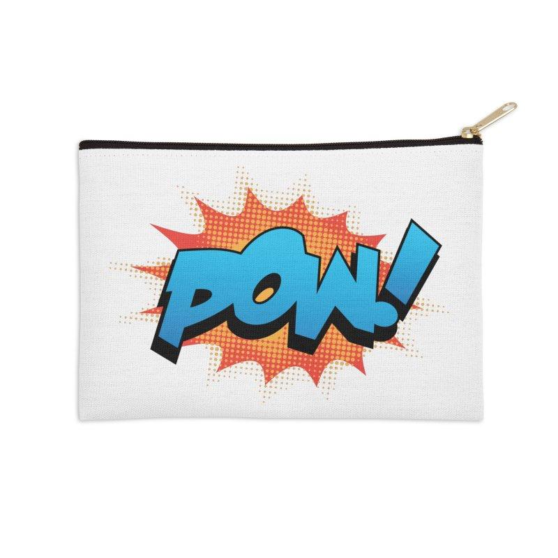 POW! Accessories Zip Pouch by periwinkelle's Artist Shop
