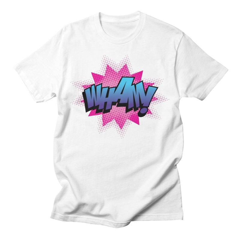 WHAM! Men's T-Shirt by periwinkelle's Artist Shop
