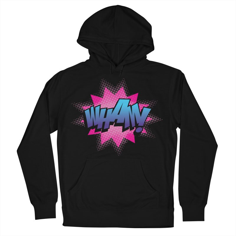 WHAM! Women's French Terry Pullover Hoody by periwinkelle's Artist Shop