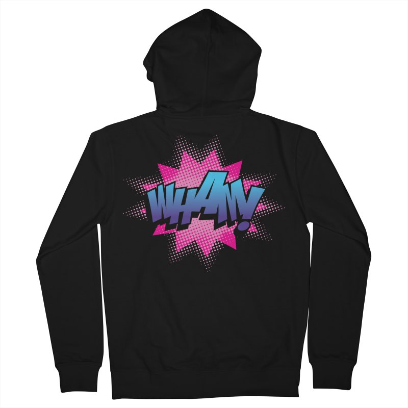 WHAM! Women's French Terry Zip-Up Hoody by periwinkelle's Artist Shop
