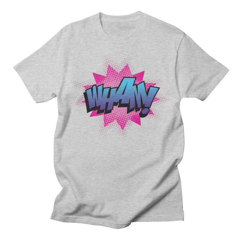 WHAM! Women's Regular Unisex T-Shirt by periwinkelle's Artist Shop