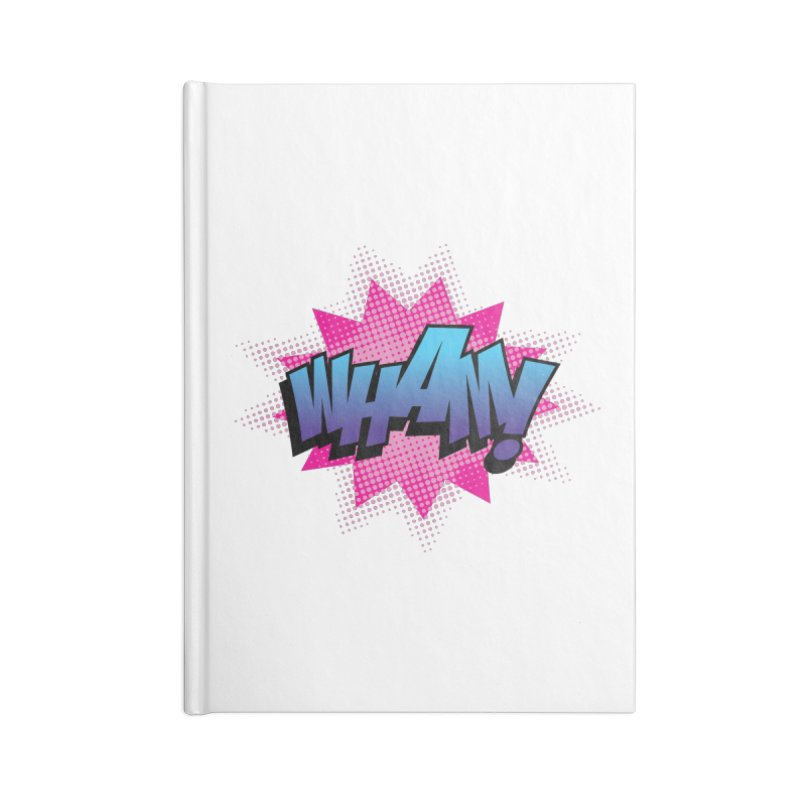 WHAM! Accessories Lined Journal Notebook by periwinkelle's Artist Shop