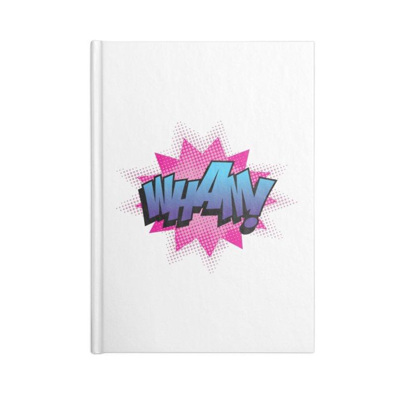 WHAM! Accessories Blank Journal Notebook by periwinkelle's Artist Shop