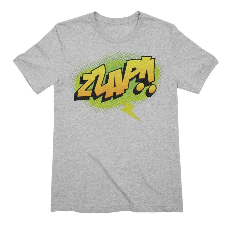 ZZAP!! Men's Extra Soft T-Shirt by periwinkelle's Artist Shop
