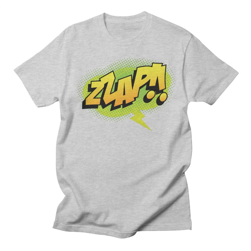 ZZAP!! Women's Regular Unisex T-Shirt by periwinkelle's Artist Shop