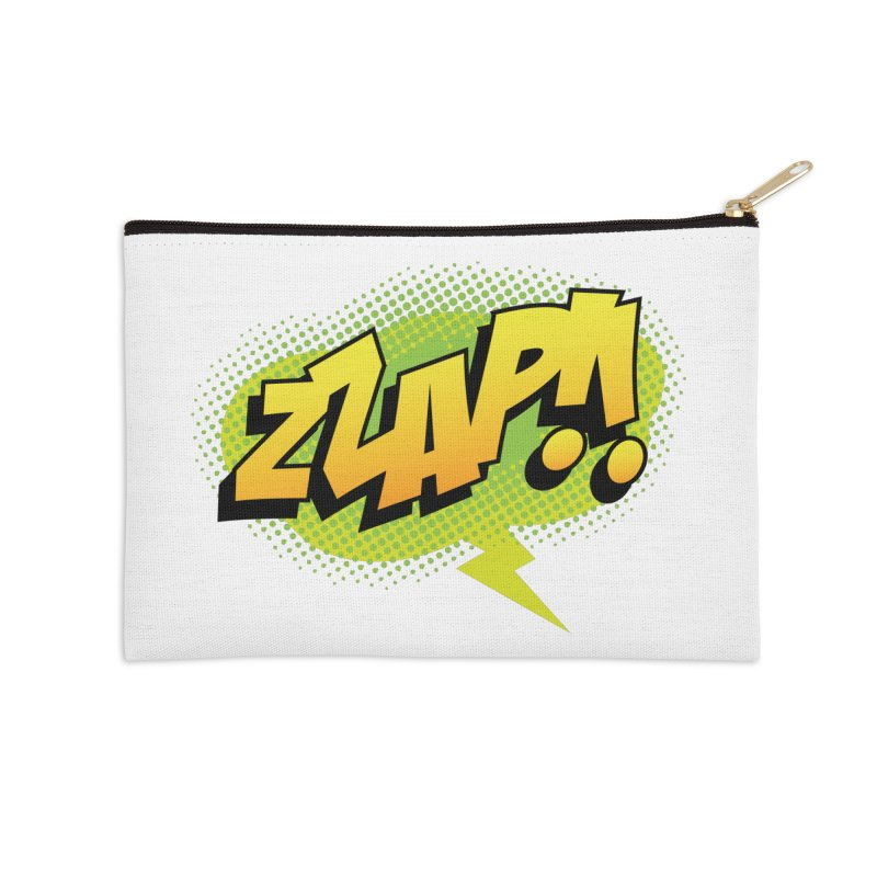 ZZAP!! Accessories Zip Pouch by periwinkelle's Artist Shop