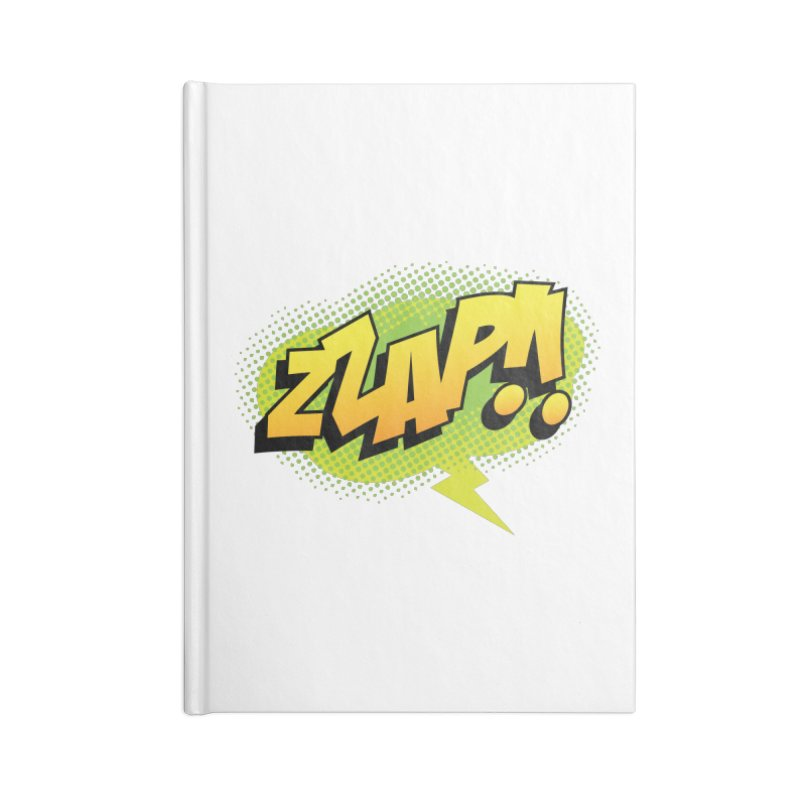 ZZAP!! Accessories Lined Journal Notebook by periwinkelle's Artist Shop
