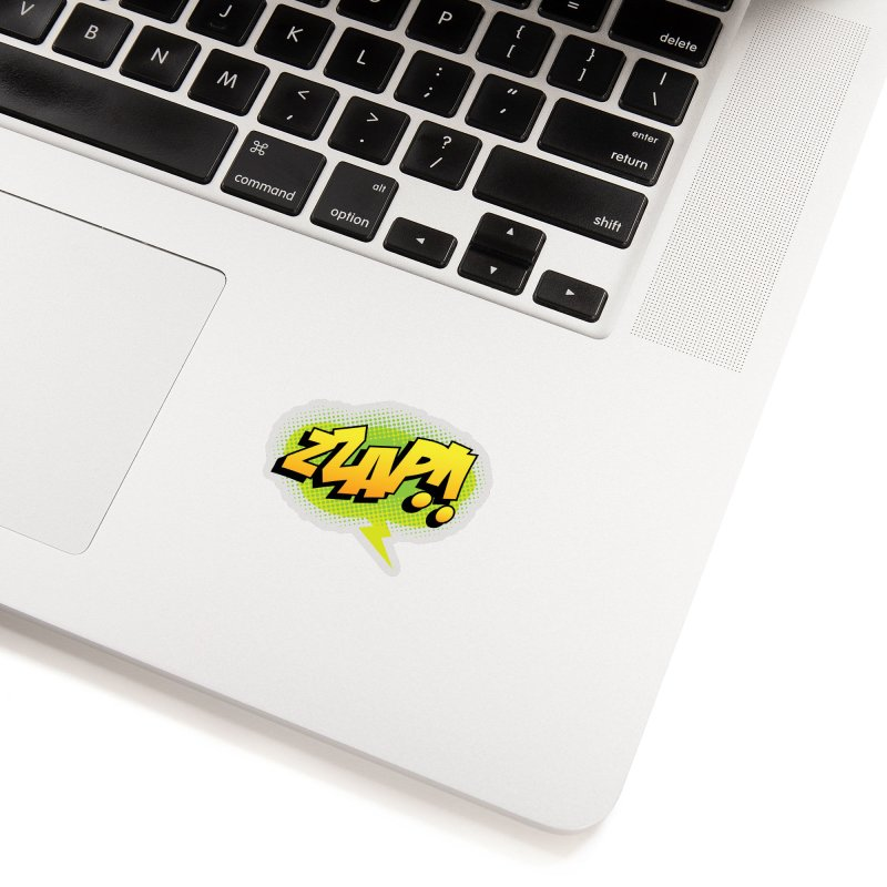 ZZAP!! Accessories Sticker by periwinkelle's Artist Shop