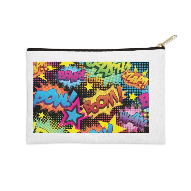 Onomatopoeia! Accessories Zip Pouch by periwinkelle's Artist Shop