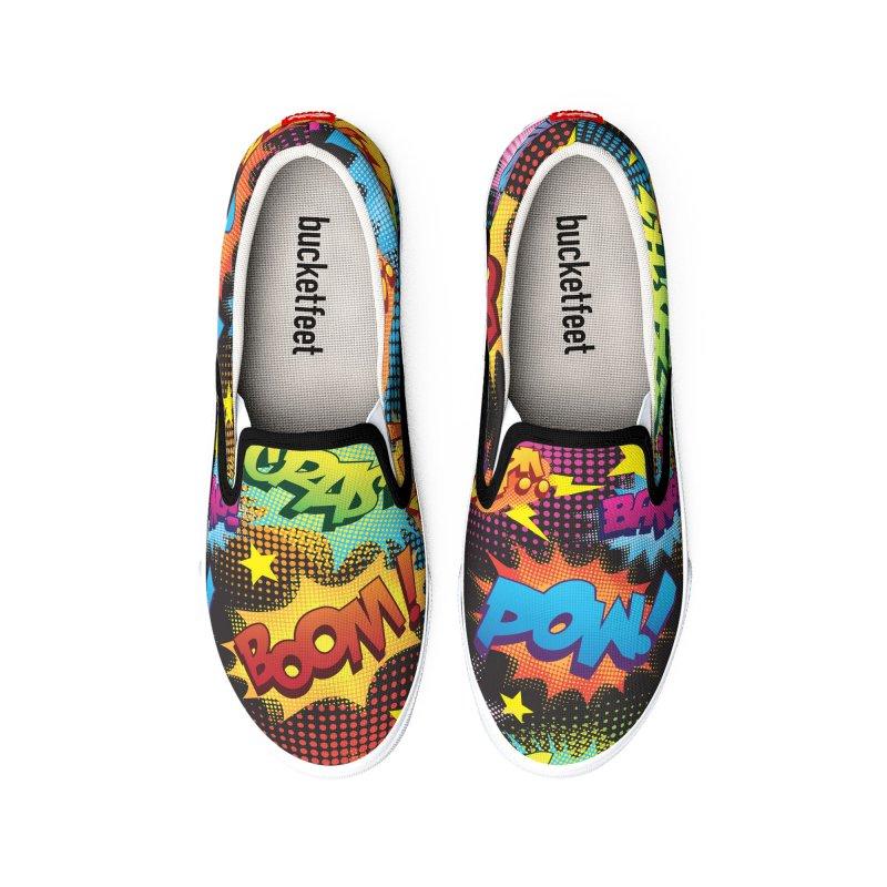 Onomatopoeia! Men's Shoes by periwinkelle's Artist Shop
