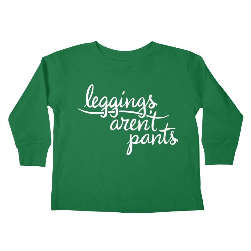 OR ARE THEY? Kids Toddler Longsleeve T-Shirt by periwinkelle's Artist Shop