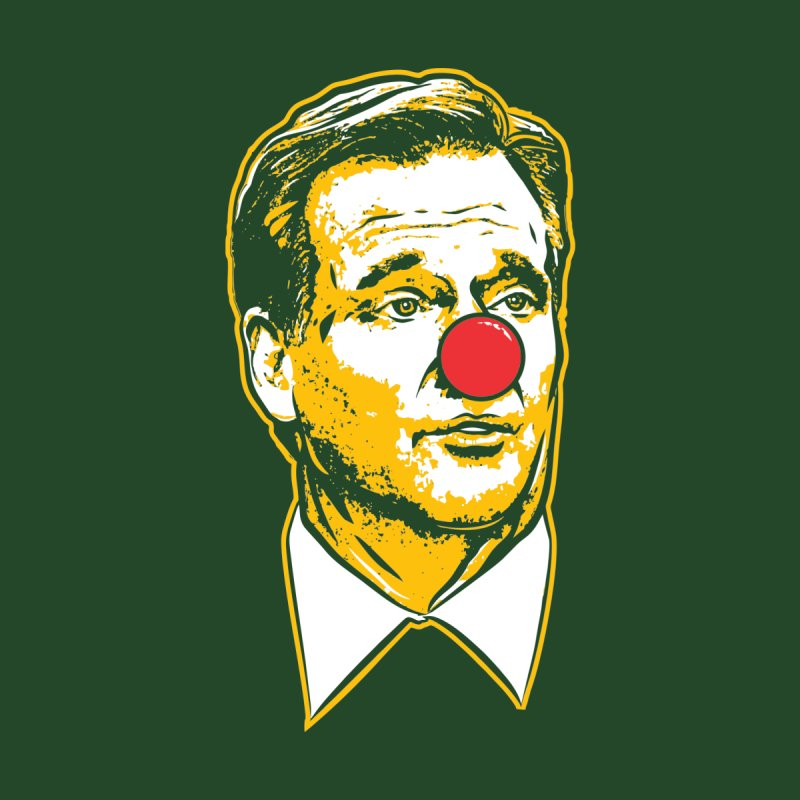 Green Bay Clown by Permanent Inc.