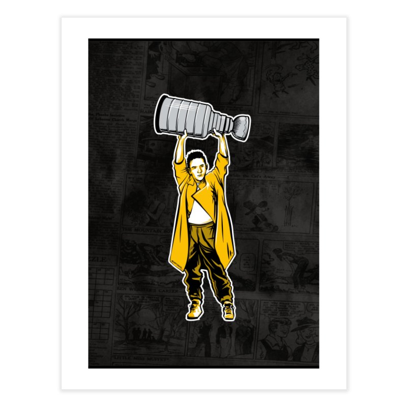 Play for Everything [BOS] Home Fine Art Print by Permanent Inc.