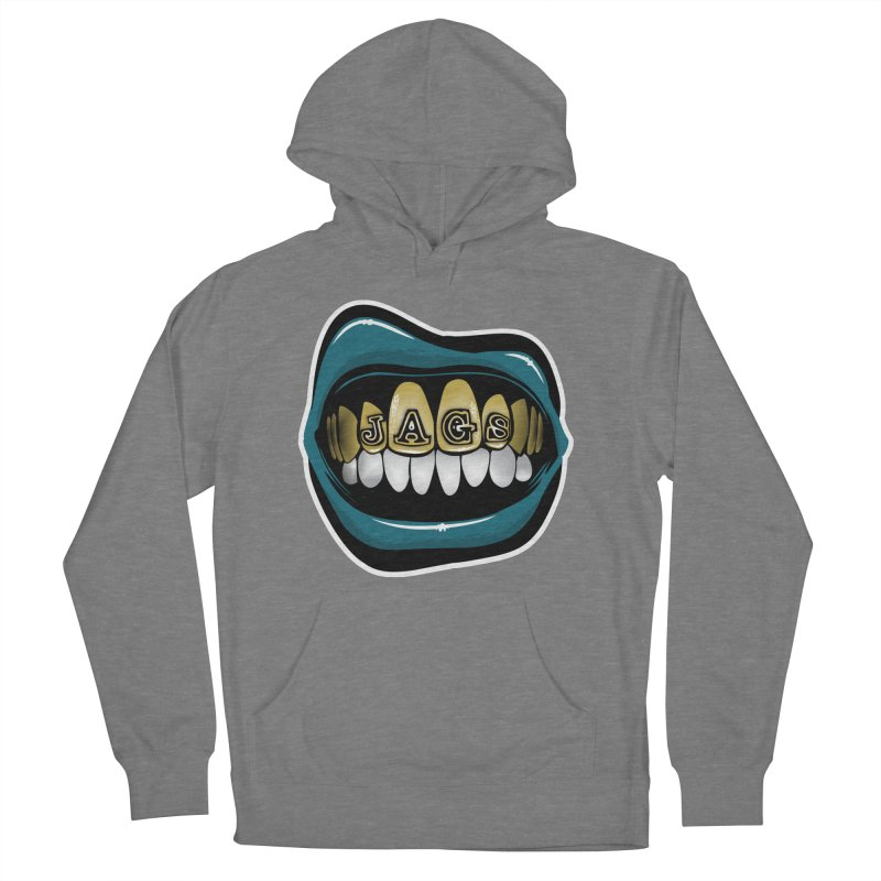 Jackson-Grillz [JAX] Women's French Terry Pullover Hoody by Permanent Inc.