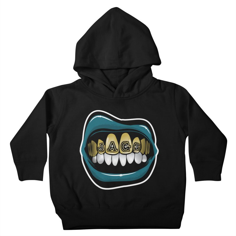 Jackson-Grillz [JAX] Kids Toddler Pullover Hoody by Permanent Inc.