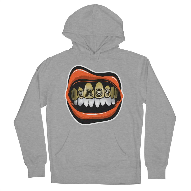 Who Dey? [CIN] Women's French Terry Pullover Hoody by Permanent Inc.