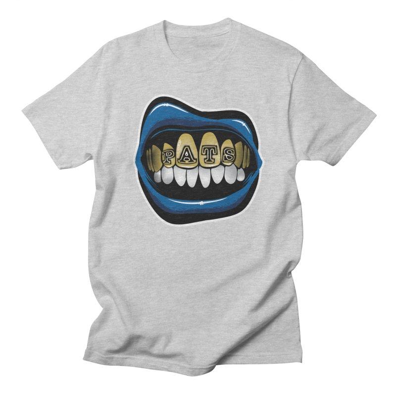 Pats Grillz [NE] Women's Regular Unisex T-Shirt by Permanent Inc.