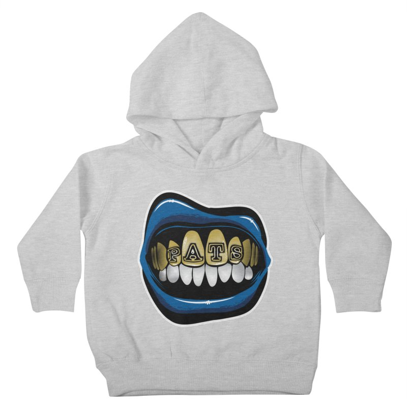 Pats Grillz [NE] Kids Toddler Pullover Hoody by Permanent Inc.