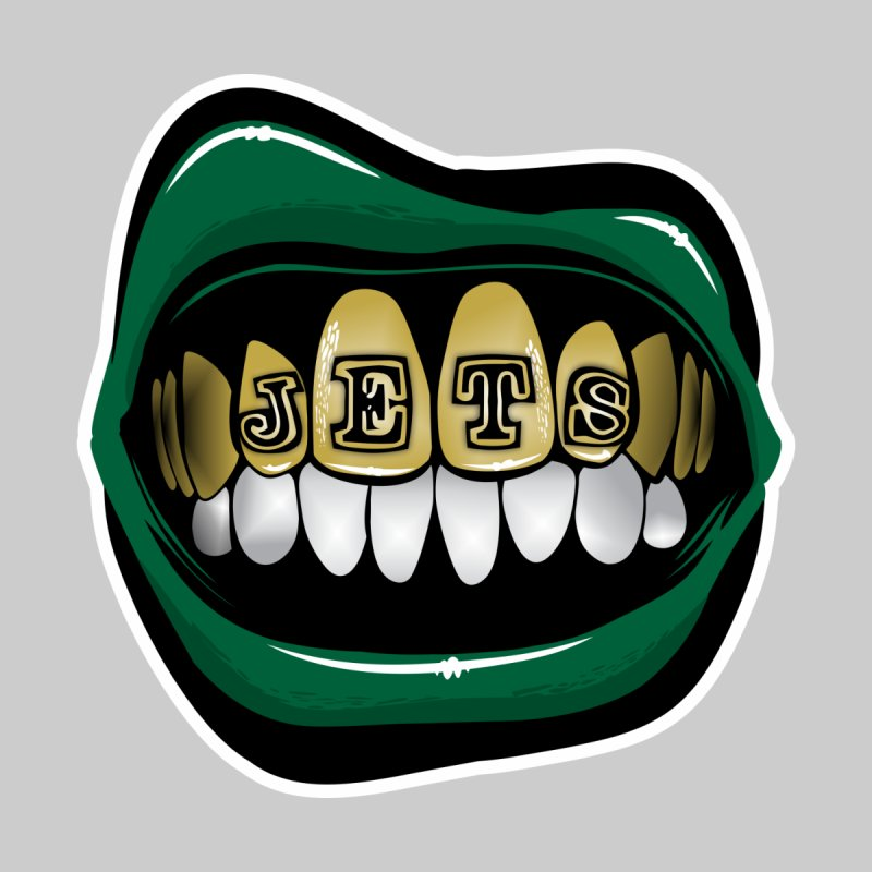 Gang Green Grillz by Permanent Inc.