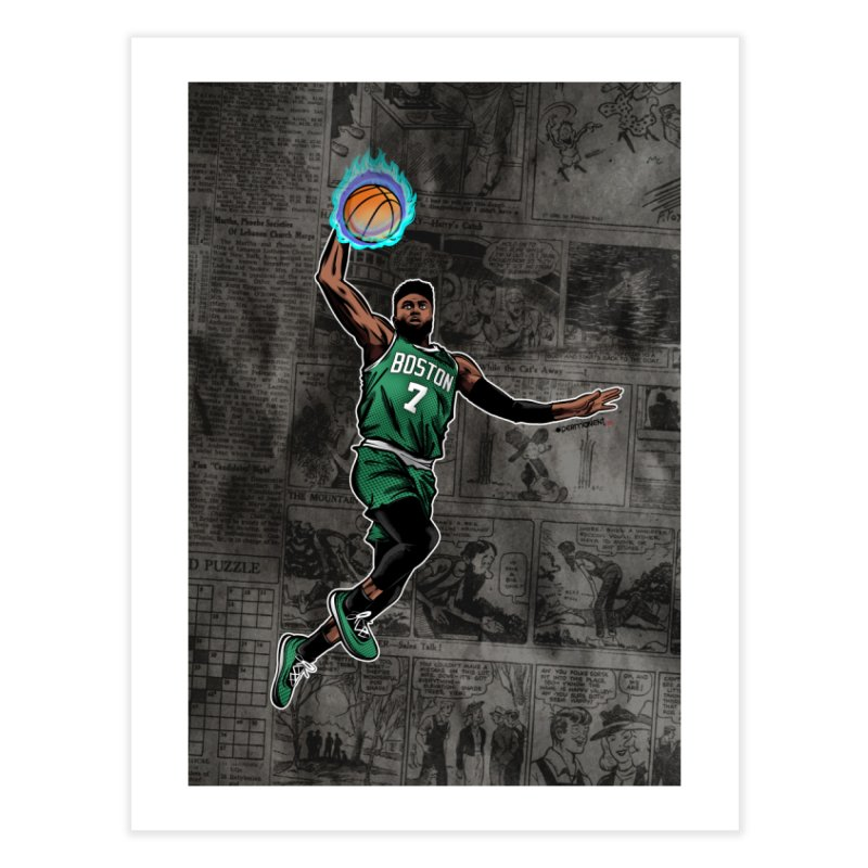 Jay Fly Home Fine Art Print by Permanent Inc.