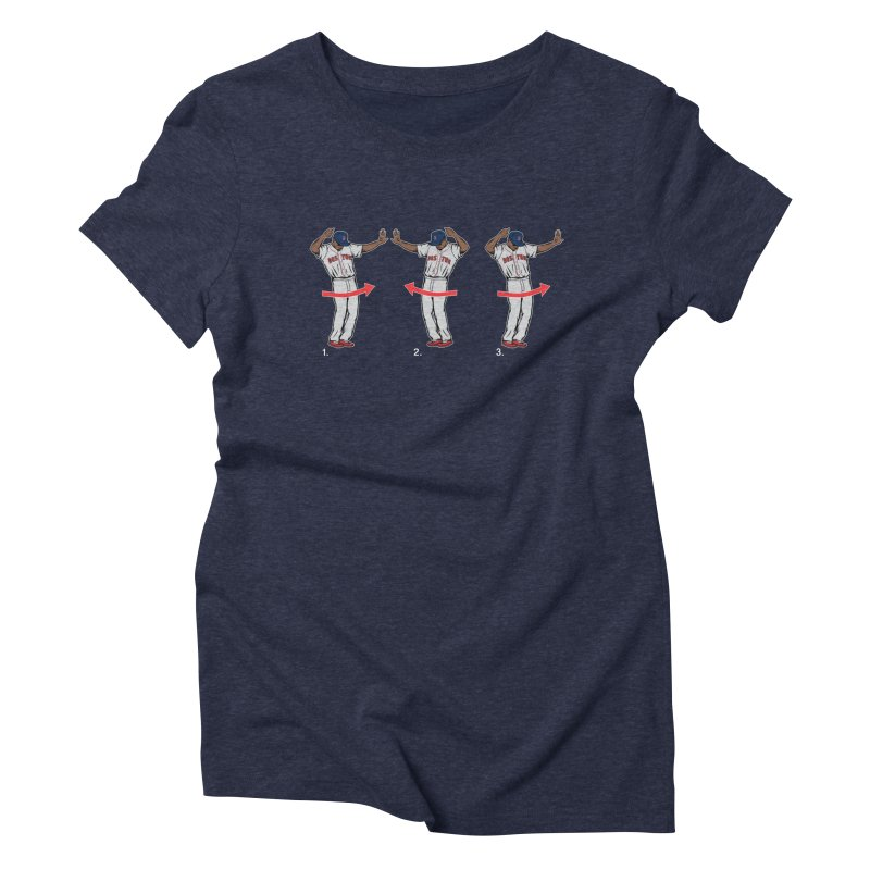 Mookie Shimmy Women's Triblend T-Shirt by Permanent Inc.