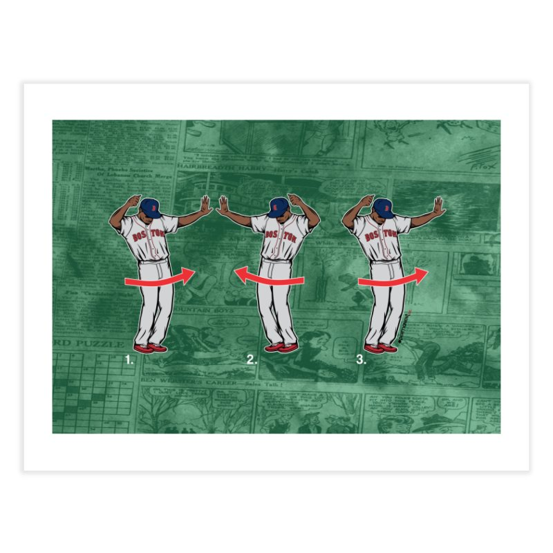 Mookie Shimmy Home Fine Art Print by Permanent Inc.
